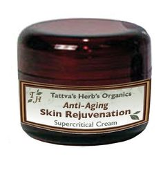 Anti-aging (Skin Rejuvenation) Facial Cream - Made From Organic, Supercritical Extracts, 2 Oz. by Tattva's Herbs. $19.96. Detoxify and fight free radicals that cause aging. Increase the synthesis of collagen and enhances skin's vitality. Strengthen underlying connective tissues, resulting in increased elasticity and a more youthful appearance. All ingredients are organic and extracted using broad spectrum Supercritical (C02) technology. Reduce wrinkles by suppo...