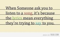 Image result for The meanings of songs quotes
