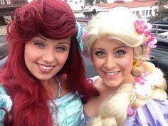 Ariel & Rapunzel www.onceuponatimecc.com
