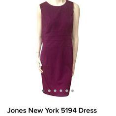 Jones New York Purple Dress Jones New York Purple. Dress Jones New York Dresses Midi