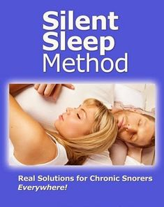 Natural stop snoring remedy