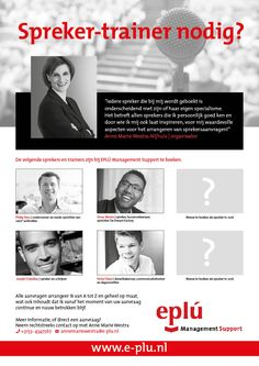 """Happy with my new 'Looking for a speaker-trainer/ Spreker-trainer nodig"""" flyer, featuring #Philip Hess #OmarMunie #Joseph Oubelkas and #Victor Vlam!! #sprekersentrainers #speakersandtrainers #organisator #organizer #sprekers #speakers"""