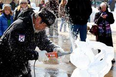 Wurtsboro Winterfest celebrates snow and ice. Brrrrr!