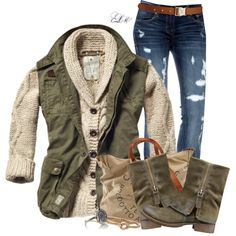 """Looks Comfy Enough"" by tmlstyle on Polyvore"