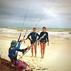 kite lessons in Tulum beach by Mauricio Vega (Mexican Caribbean Kitesurf) we are located at Ahau Tulum hotel beach www.mexicancaribbeankitesurf.com #kitesurf #kitetulum #kiteschool #kiteboarding