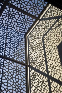 Modern Mashrabiya for Privacy Screens