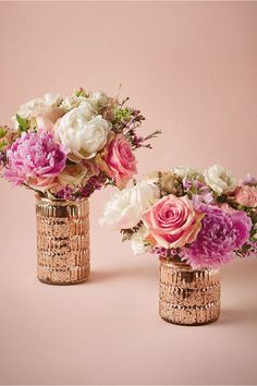 First Blush Vases (set of 2) from BHLDN