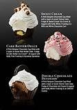 Need a good dessert, fast? Don't have time to bake? Try these adorable new Sweet Treat Cupcakes from Cold Stone Creamery. Ice Cream Cupcakes, Filled Cupcakes, Yummy Cupcakes, Heart Cupcakes, Gourmet Cupcakes, Amazing Cupcakes, Valentine Cupcakes, Pink Cupcakes, Valentine Treats