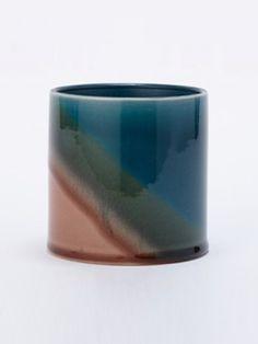 画像1: Tyyne Gradation Pot/テューネグラデーションポット[Blue x Green x Brown]