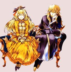 Ada Vessalius and Vincent Nightray Pandora Hearts~ |-; This makes me want to cry…