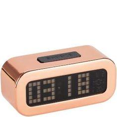 Copper alarm clock 199SE