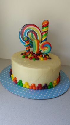 Lolly pop candy cake