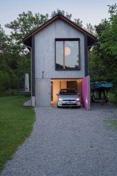 Энергоэффективный деревянный домик в Германии