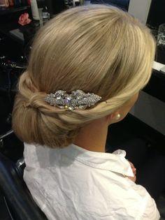 Another Grace Kelly style updo by MISS FOX www.missfox.com.au