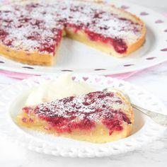 Nyttig frozen yoghurtdessert Baking Recipes, Cookie Recipes, Dessert Recipes, Desserts, Grandma Cookies, Scandinavian Food, Swedish Recipes, Sweet Pie, How Sweet Eats