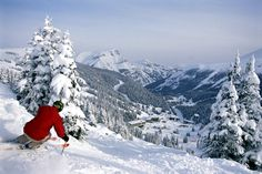 Skiing at Lake Louise. Yes please.