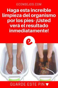 Limpieza del organismo | Haga esta increíble limpieza del organismo por los pies- ¡Usted verá el resultado inmediatamente! | Existen métodos naturales que pueden ayudar a desintoxicar su cuerpo y fortalecer su inmunidad. ¡Este es uno de ellos! Aprenda aquí.