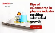 Grow your PHARMACEUTICAL BUSINESS by starting your own ECOMMERCE WEBSITE.   Increase product sales and seamless distribution of products.   Rely on SynapseIndia to avail technology services. Increase Sales, Ecommerce, Industrial, Technology, Website, Business, Design, Products, Tech