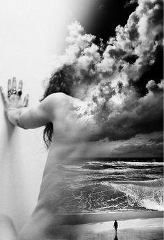 Cuando el silencio se baña en el mar de unos ojos tristes y se asfixia el grito de un te amo que no se deja escuchar.. escribir es respirar.
