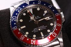 """#elevenjames #Rolex ROLEX GMT MASTER """"PEPSI"""" (VINTAGE)  Find at Elevenjames.com"""