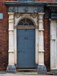 Door to an abandoned building in Leek(Sometimes I don't understand why buildings are abandoned, and too parts and pieces of building could be recycled)