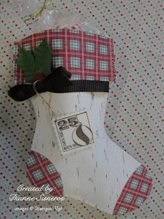 Holiday Stocking Bigz L Die Retiring