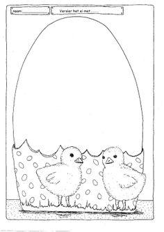 * Versier het ei....