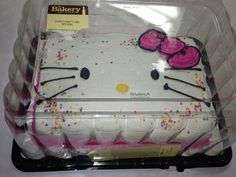 diy hello kitty face cake DIY Pinterest The ojays Wings