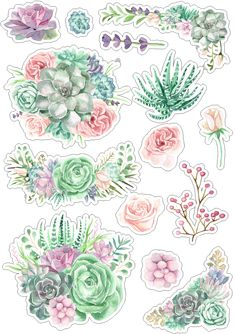 Roses_стили и странички для скрапа Journal Stickers, Scrapbook Stickers, Scrapbook Paper, Diy And Crafts, Paper Crafts, Tumblr Stickers, Decoupage Vintage, Bullet Journal Ideas Pages, Printable Planner Stickers