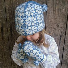 FREE Knitting Pattern :Talkeetna Set with Knitted Hat and Mittens for Kids