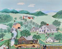 Grandma Moses - The Oaken Bucket