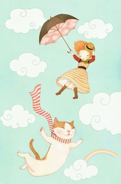 By suyeon noh #cat #illustration