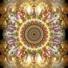 7th Dimension Energy Art by Marc Eden