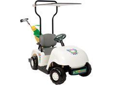 NPL White Junior Pro Golf Cart NPL-0203 Ride on Toy