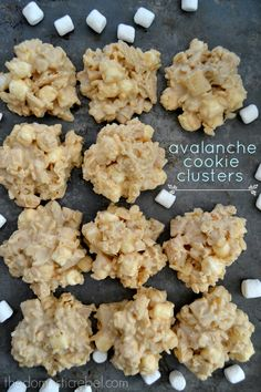 Buttery, crunchy, gooey and addictive, these Avalanche Cookie Clusters are inspired by Rocky Mountain Chocolate Factory's Avalanche Bars... but with a secret ingredient: pie crust!