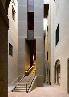 Scala di ponente dei nuovi Uffizi _ Florence, Italy, 2011 by Adolfo Natalini