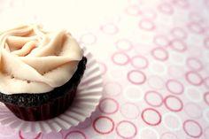 """Vegan """"Chocolate Covered Cherry"""" Mini Cupcakes"""