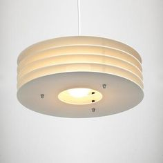 Plafondlamp 'Vinyl 5' (wit)