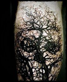 Halloween Body Tattoo Designs (35)