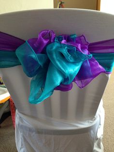 purple & teal theme, sand ceremony - purple on the bride\'s side ...