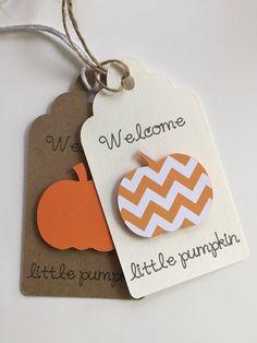 Baby Shower Decor Little Pumpkin Baby Shower Little by PaperStrip