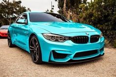 BMW F82 M4 - omg I am digging this color!