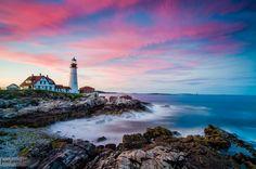 Portland Head Colors - Bradley Kalpin. Maine, US.