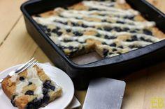 AIP lemon blueberry coffeecake-- cassava flour