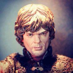 Game of Thrones Tyrion Lannister painted prototype   #threezero #GOT #prototype #actionfigure