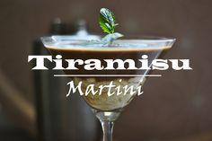 Tiramisu Martini. Easy and delicious
