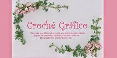 Crochê Gráfico Crochet Tablecloth, Crochet Doilies, Crochet Flowers, Crochet Chart, Baby Blanket Crochet, Beautiful Crochet, Diy And Crafts, Projects To Try, Interior