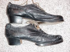 bojangles tap shoes. wooden taps. class act.