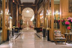 Buenos Aires - Alvear Palace. The grandest hotel in Buenos Aires has been a high-society fixture since 1932
