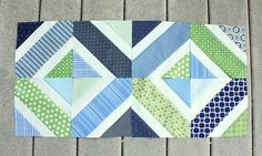 LOVE this piecing for a #quilt. Can't wait to see the finished product!!